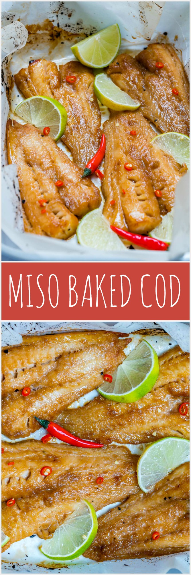 Dinner Favorite Spicy Miso Baked Cod