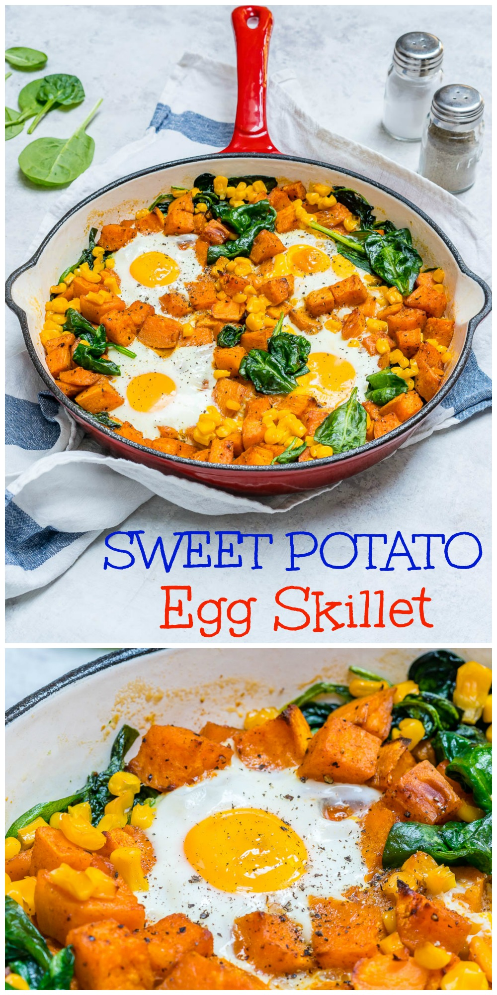 CleanFoodCrush Sweet Potato N' Egg Skillet