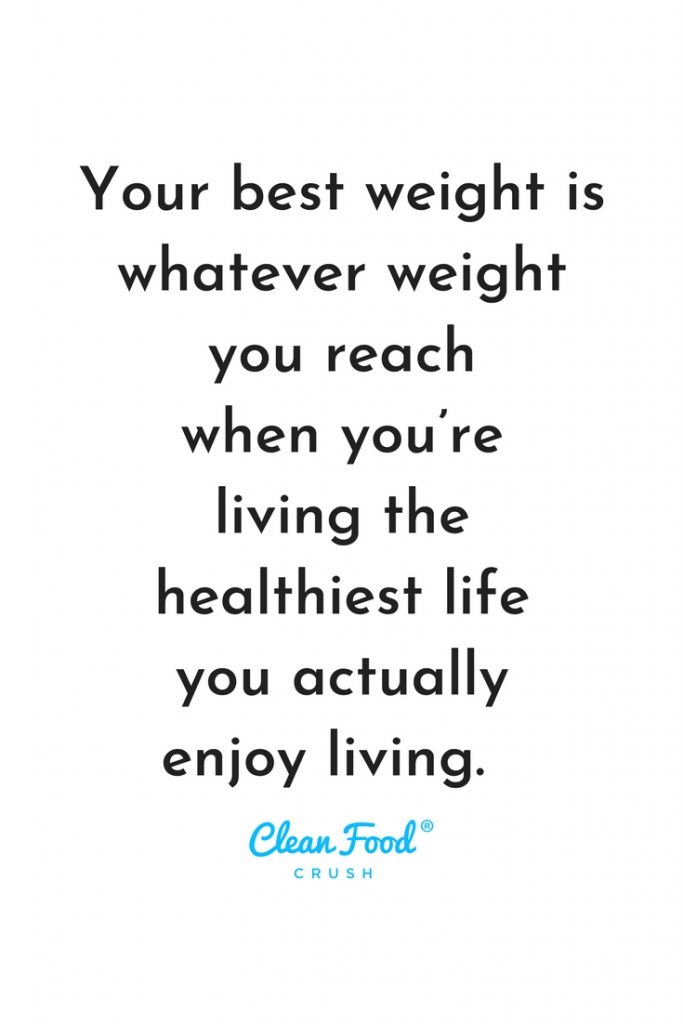 CleanFoodCrush Weight Loss motivation