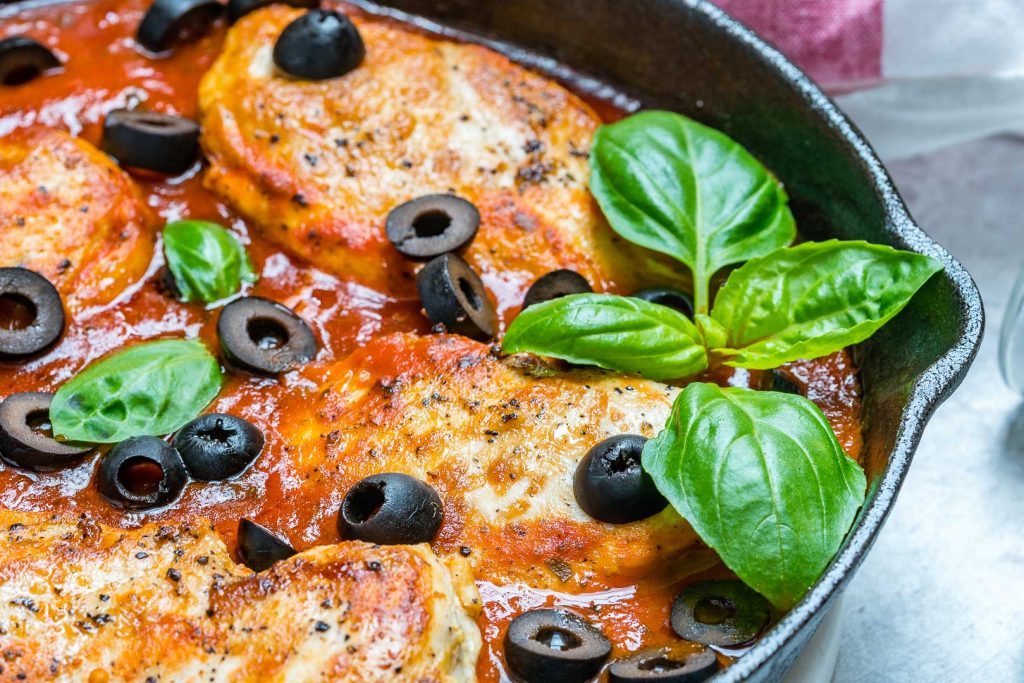 One-Pan Mediterranean Chicken Ingredients