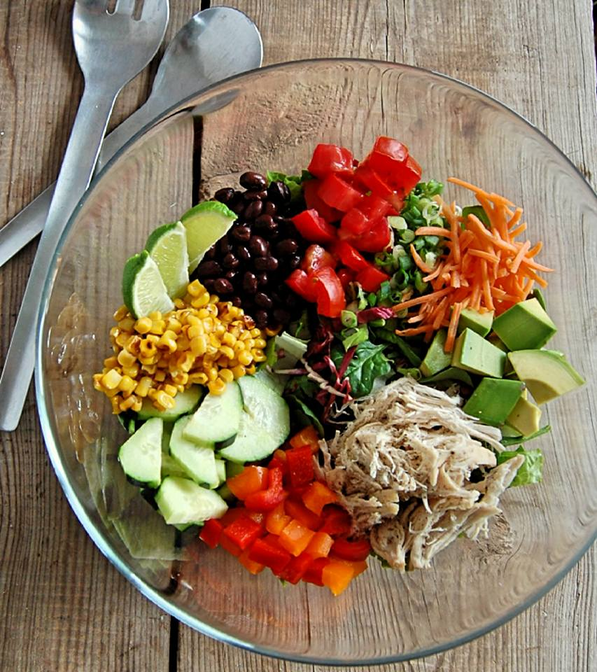 Mexican Clean Eating Salad