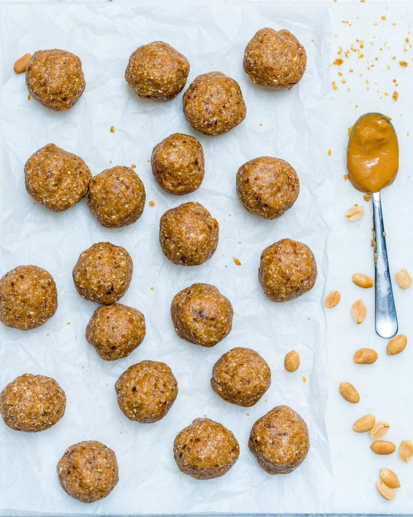Peanut Butter Protein Balls Clean Eating