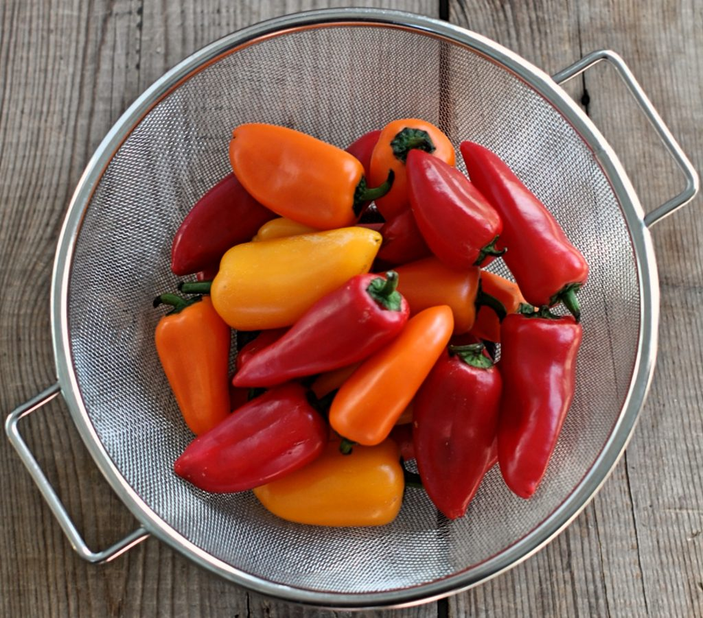 Roasted Sweet Pepper Meal Prep Ingredients
