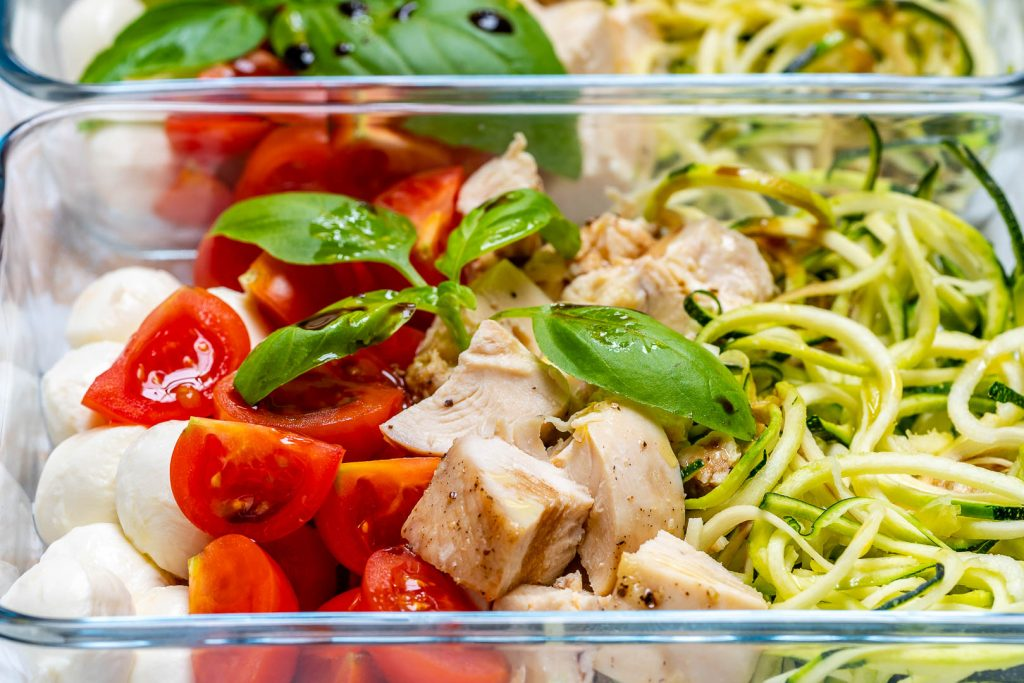 Caprese Chicken Zoodles Recipe