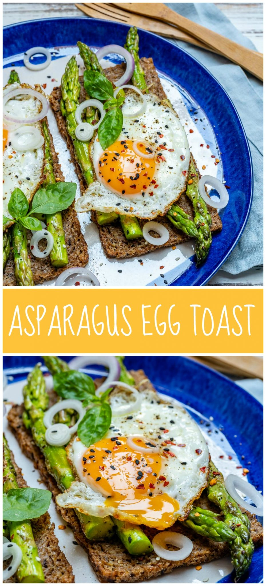 Breakfast Recipes Asparagus Egg Toast