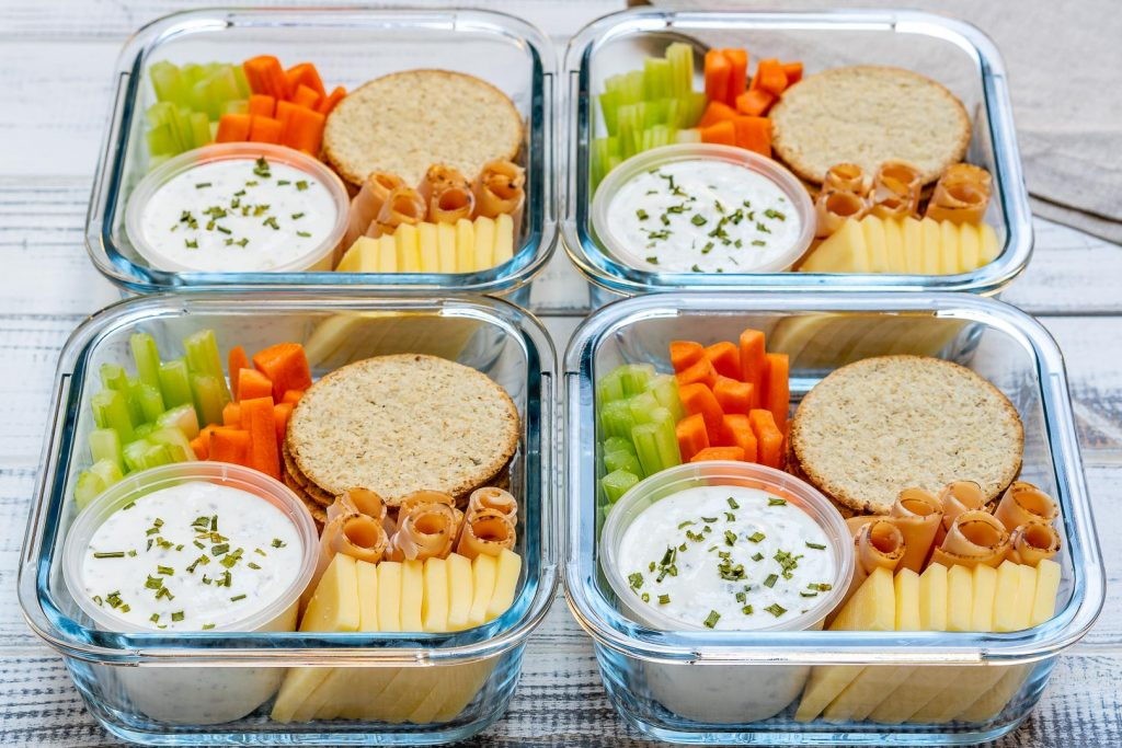 Homemade Ranch Delight Bento Boxes Recipes