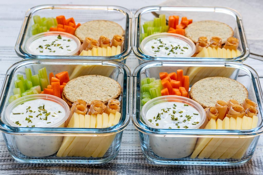 Eat Clean Homemade Ranch Delight Bento Boxe
