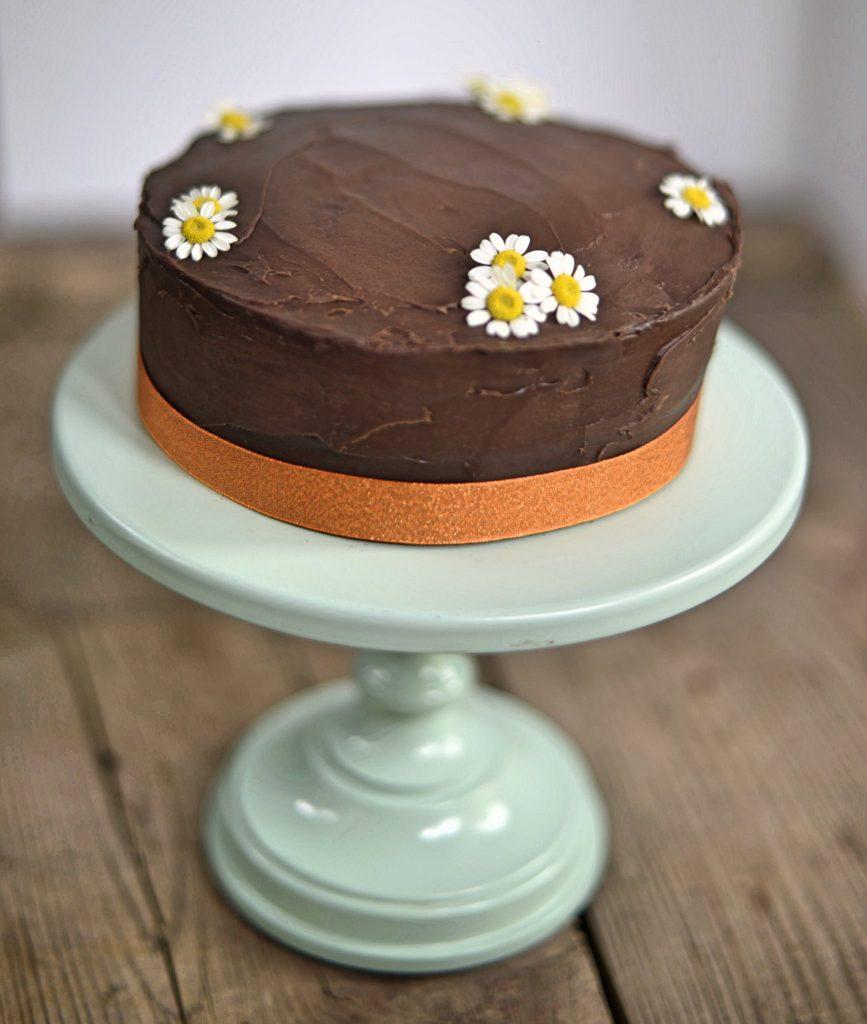 Clean Eating Chocolate Zucchini Cake Dessert Recipe