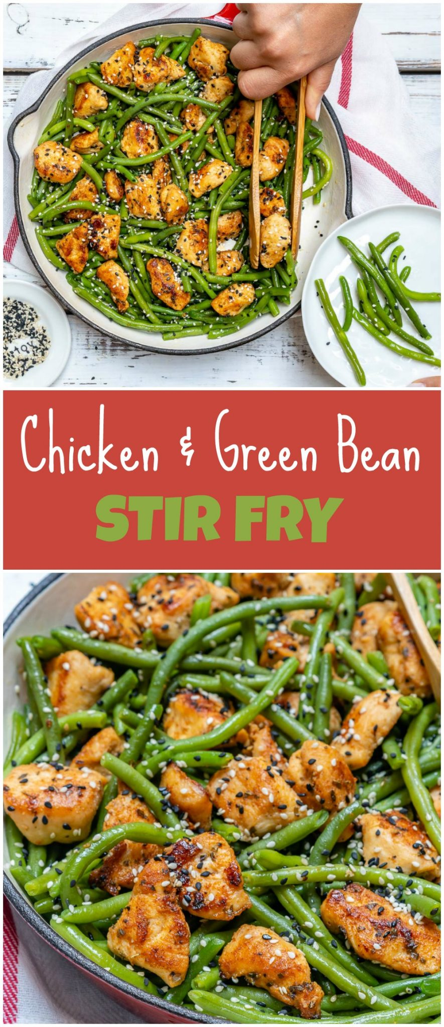 Chicken and Green Bean Stir Fry Clean Food Recipe