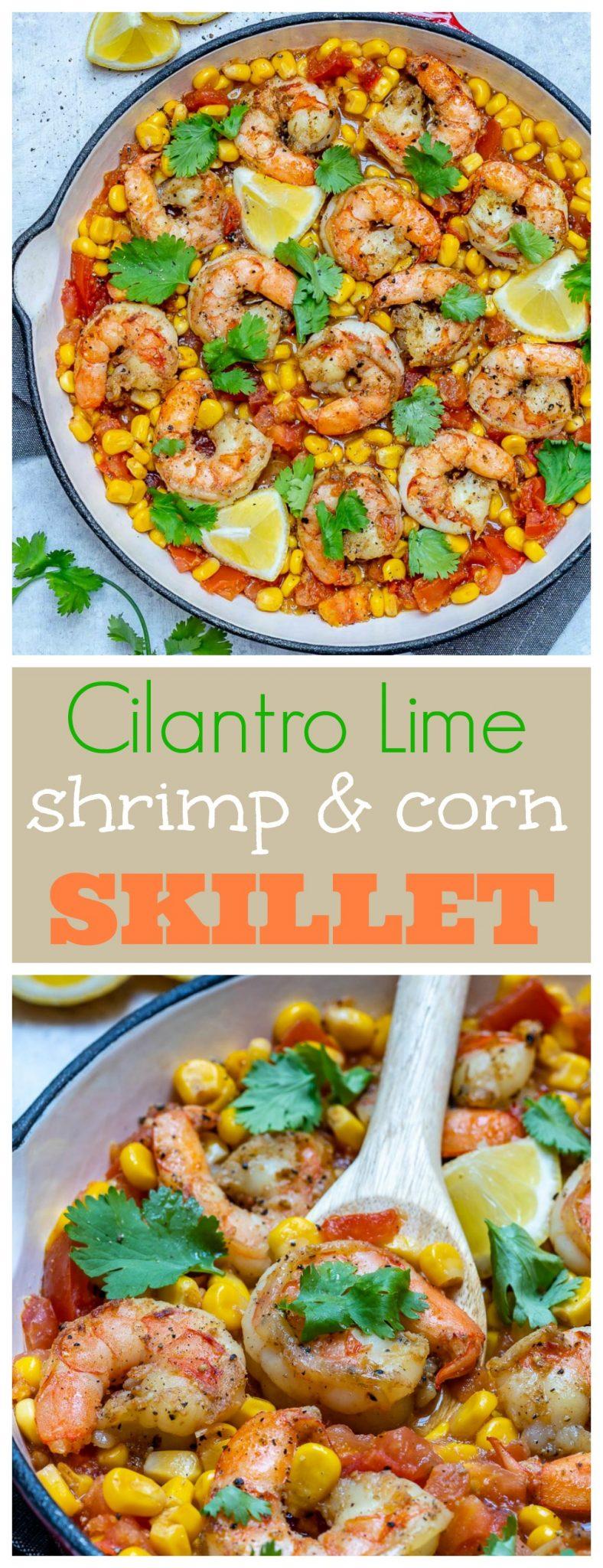 Healthy Shrimp Skillet Dinner