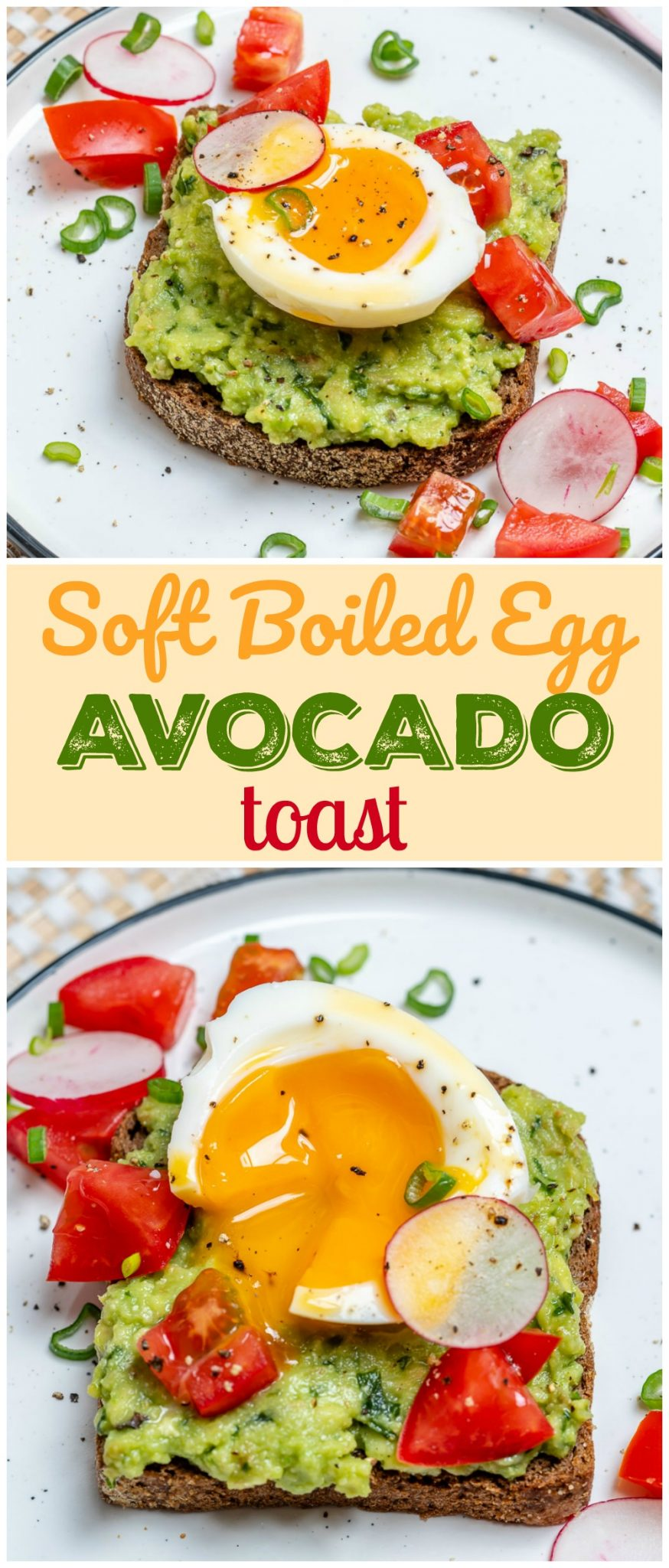 Egg-Avocado on Toast Clean Eating Recipes