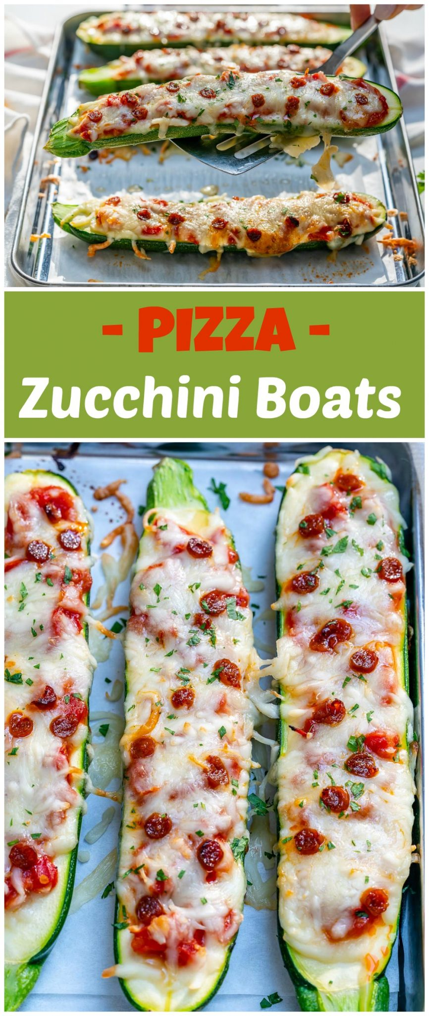 Easy Dinner Ideas Pizza Zucchini Boats