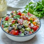 Creative Greek Chickpea Salad