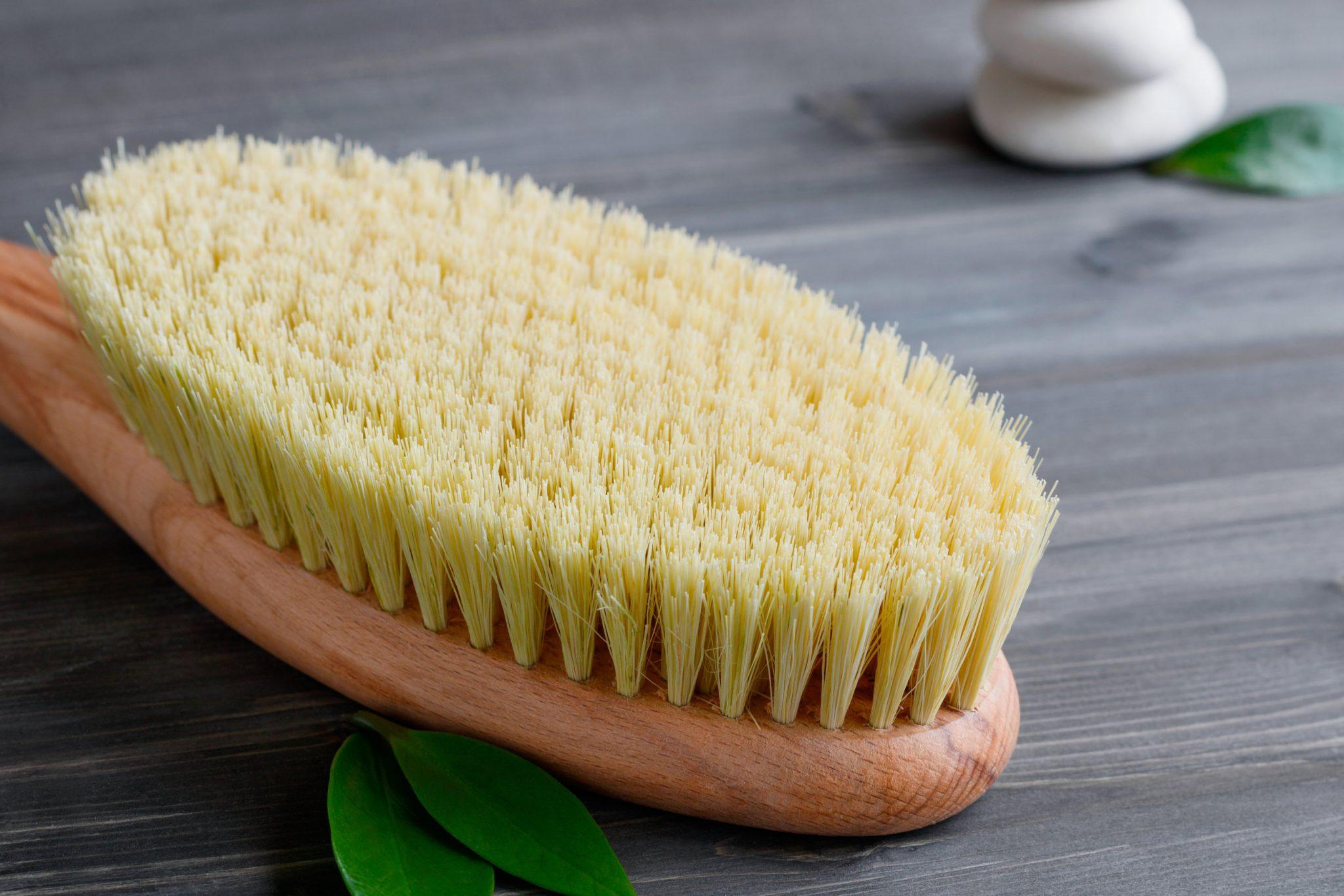 Skin Brushing Cellulite Reduction
