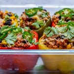 Eat Clean Burrito Stuffed Peppers