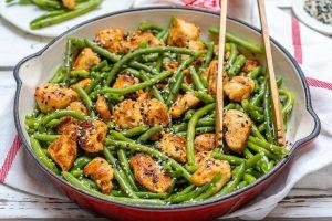 Eat Clean Chicken and Green Bean Stir Fry
