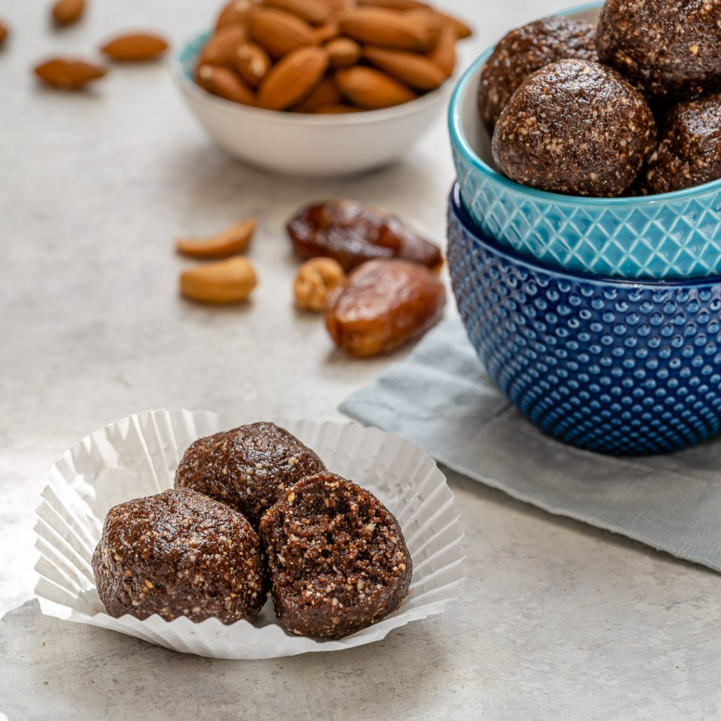 Healthy Desserts No Bake Brownie Energy Balls
