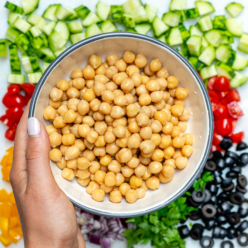 Greek Chickpea Salad Meal Prep guide