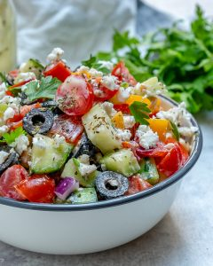 Greek Chickpea Salad Easy Preparation
