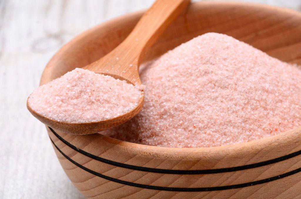 Pink Salt and Sea Salt Reduce Cellulite