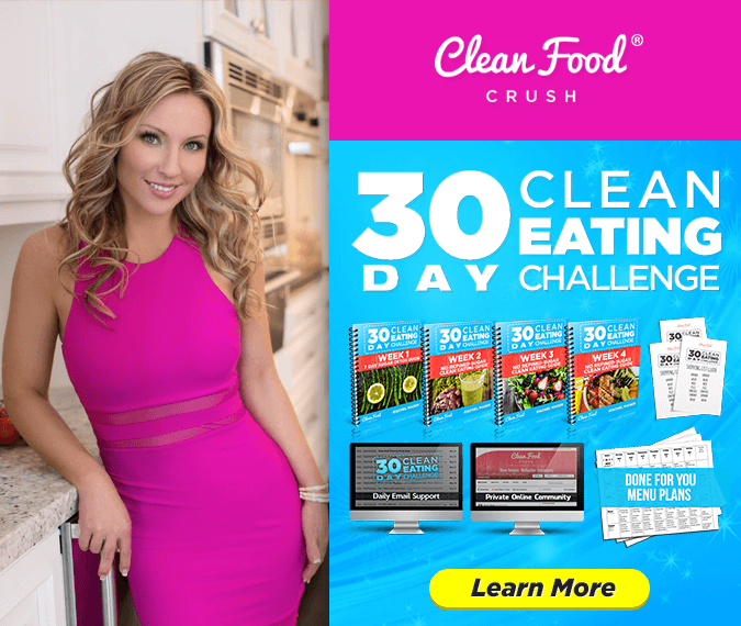 30 Day Clean Eating Challenge for Weight Loss