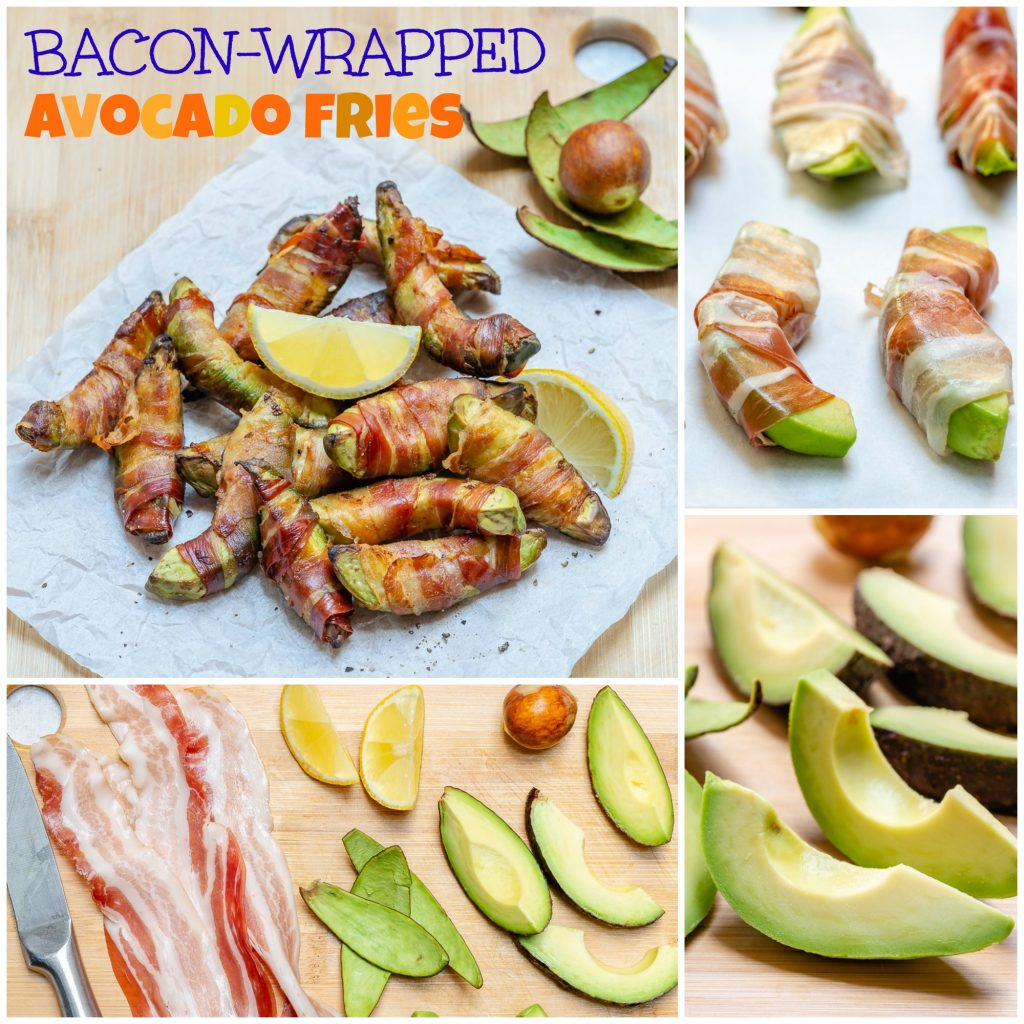 Bacon Wrapped Avocado Fries Side Dish Idea