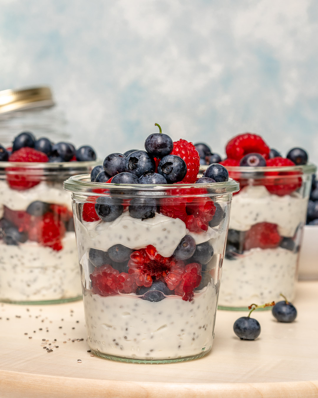 Healthy Snacks Chia Jars