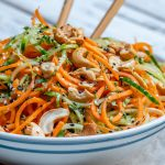 Clean Thai Veggie Noodle Salad Recipe