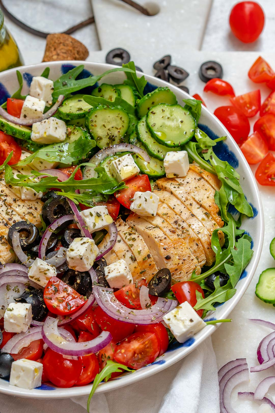 Eat Clean Greek Chicken Salad
