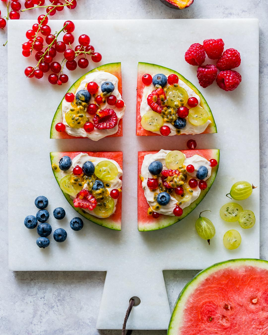 Fun Watermelon Pizza