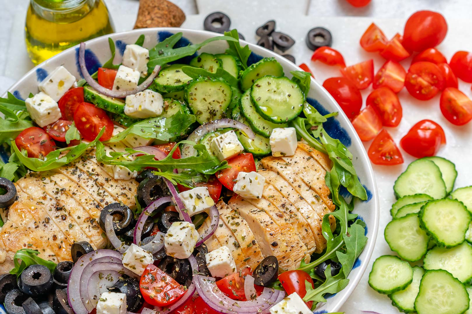 Clean Eating Greek Salad Recipe