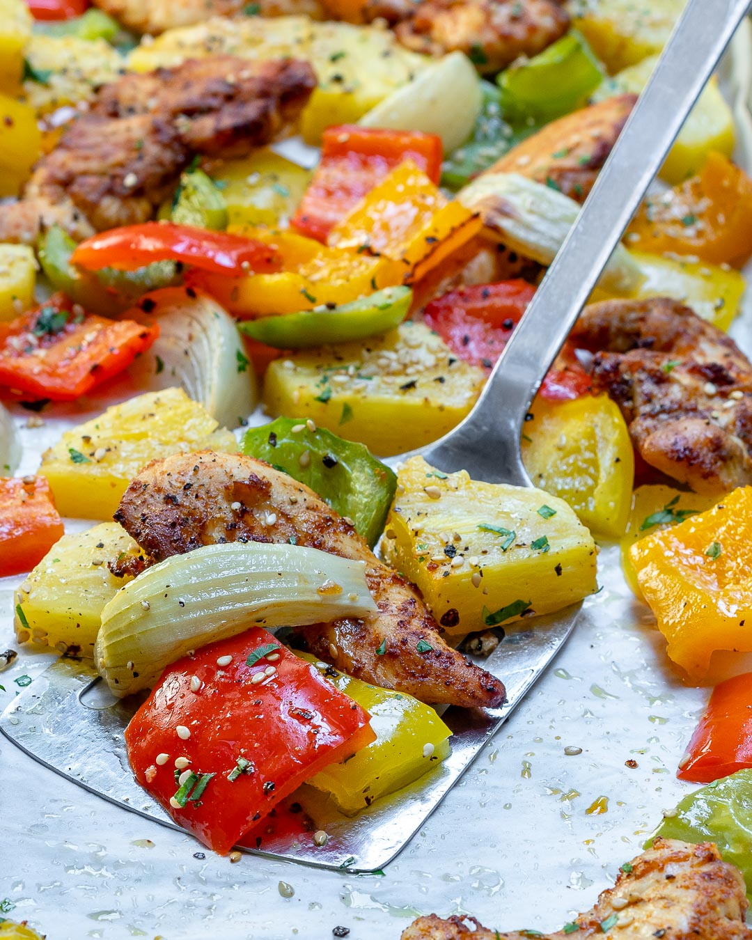 Sheet Pan Hawaiian Pineapple Chicken Recipes