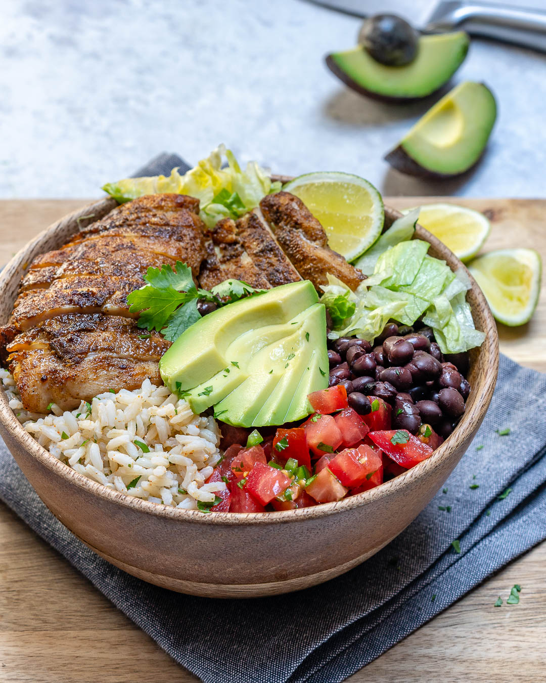 Southwest Chicken Rice Bowls Clean Eating Recipe
