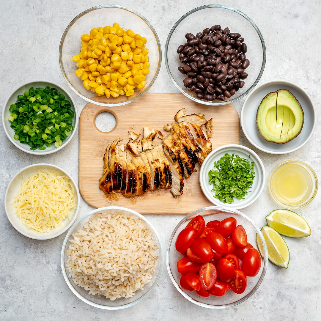 Southwest Grilled Chicken Bowl Clean Food Recipe
