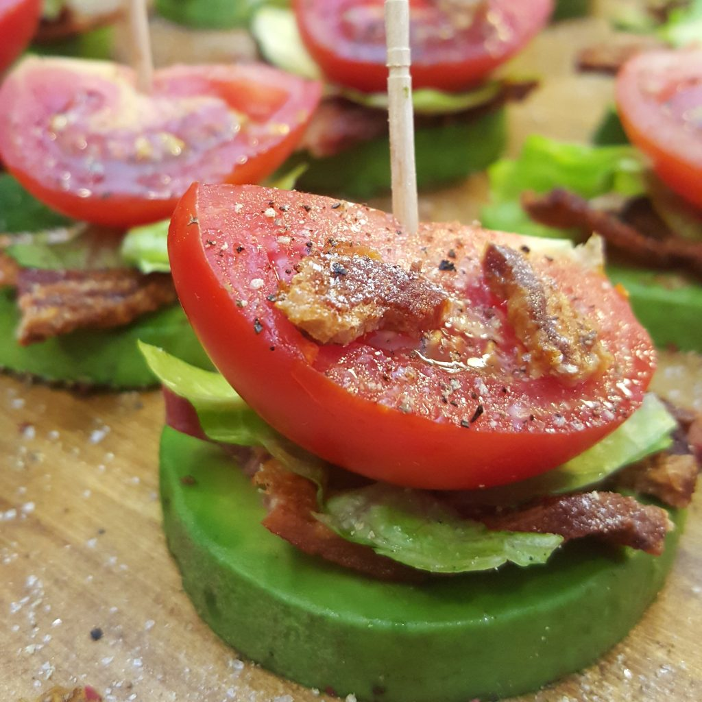 BLT Avocado Bites by CleanFoodCrush