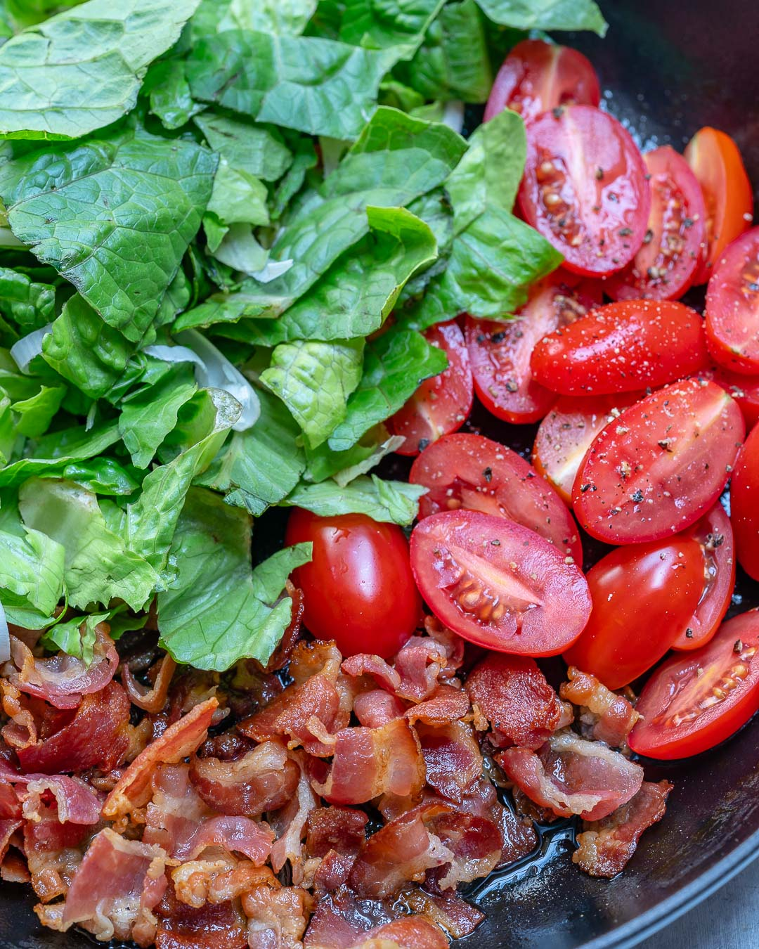 BLT Frittata Clean Recipe