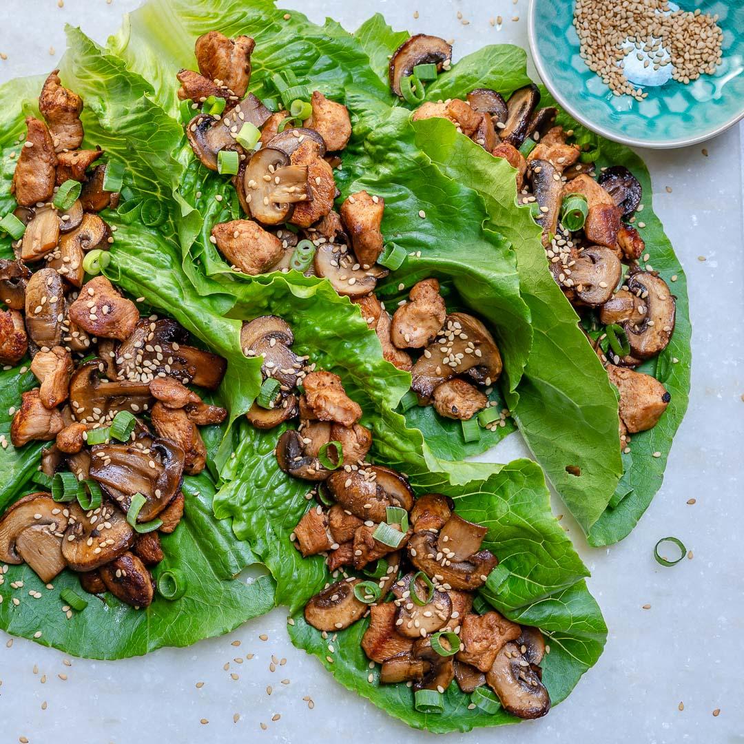 Clean Eating Asian Lettuce Wraps Dinner Ideas
