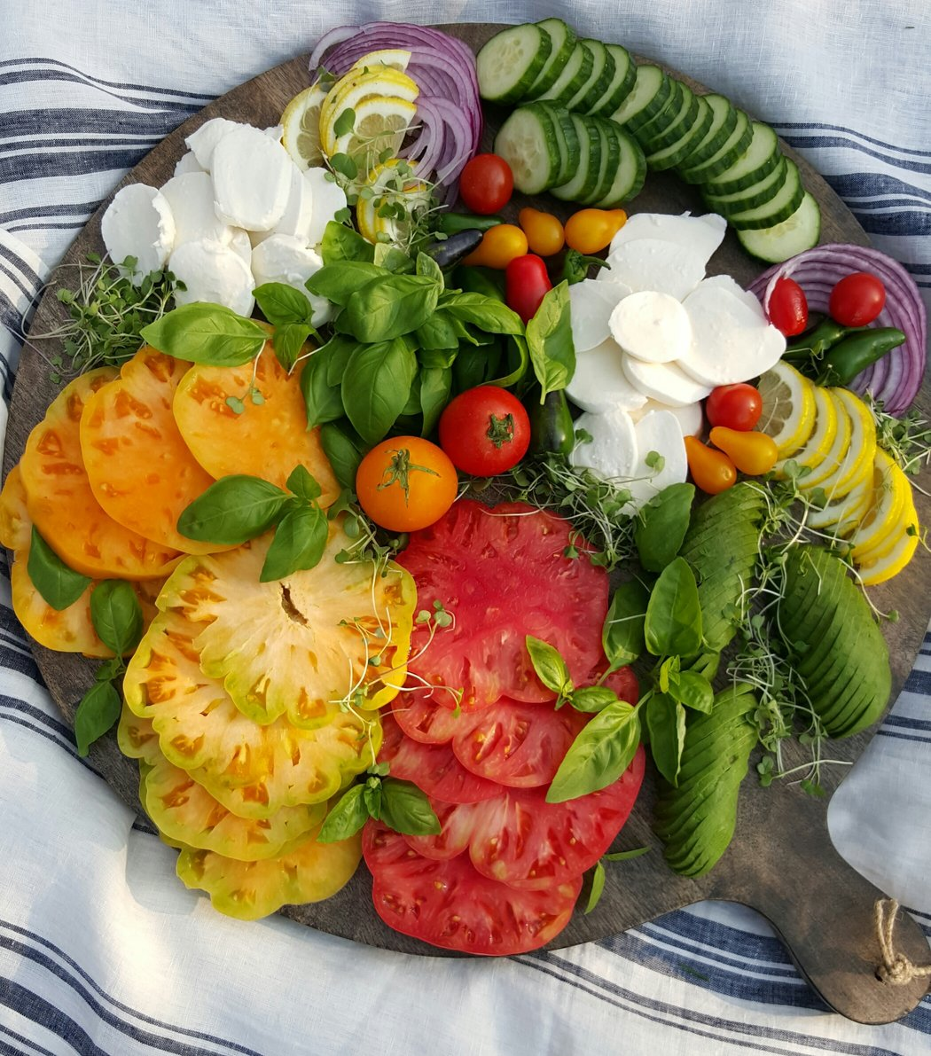 Clean Eating Heirloom Platter Recipe