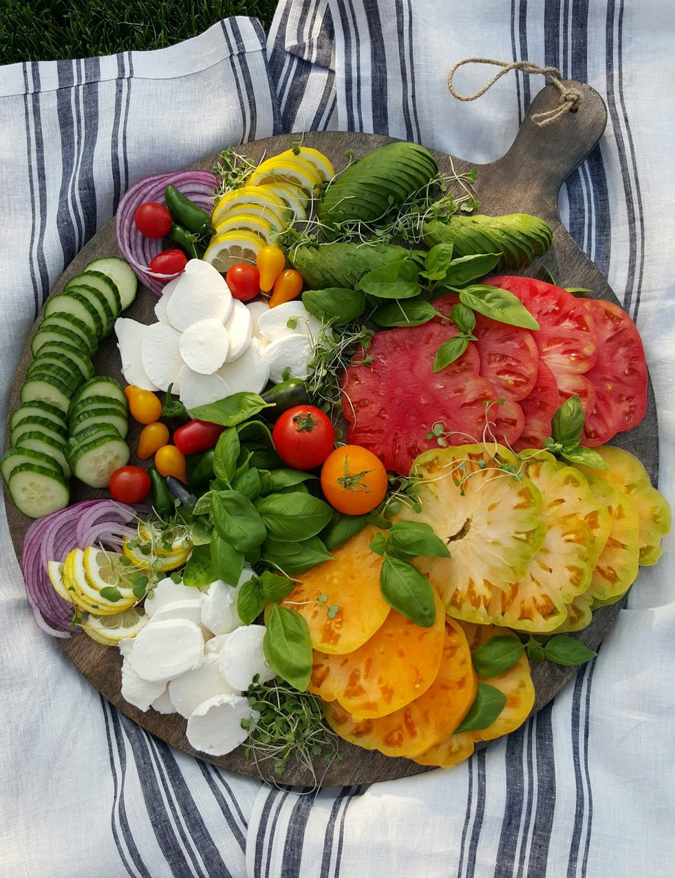 Clean Eating Heirloom Tray Dish
