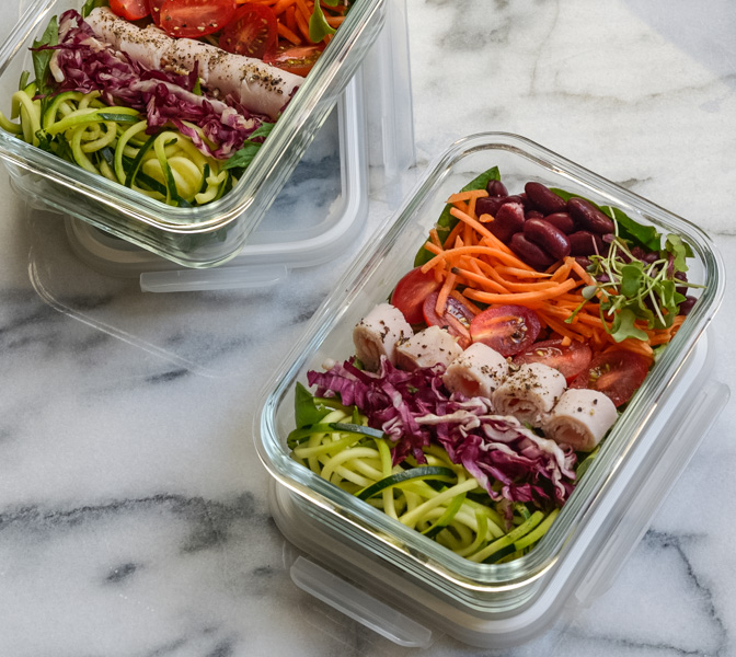Clean Food Prep Turkey Roll-up Boxes Recipe