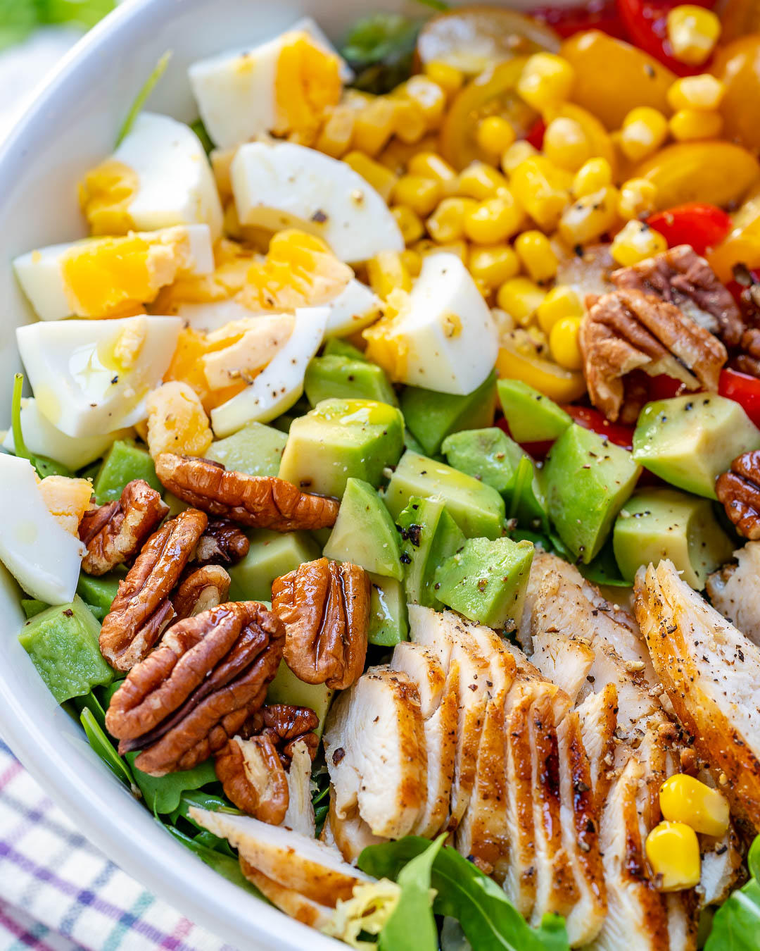 Clean Grilled Chicken Salad Recipe