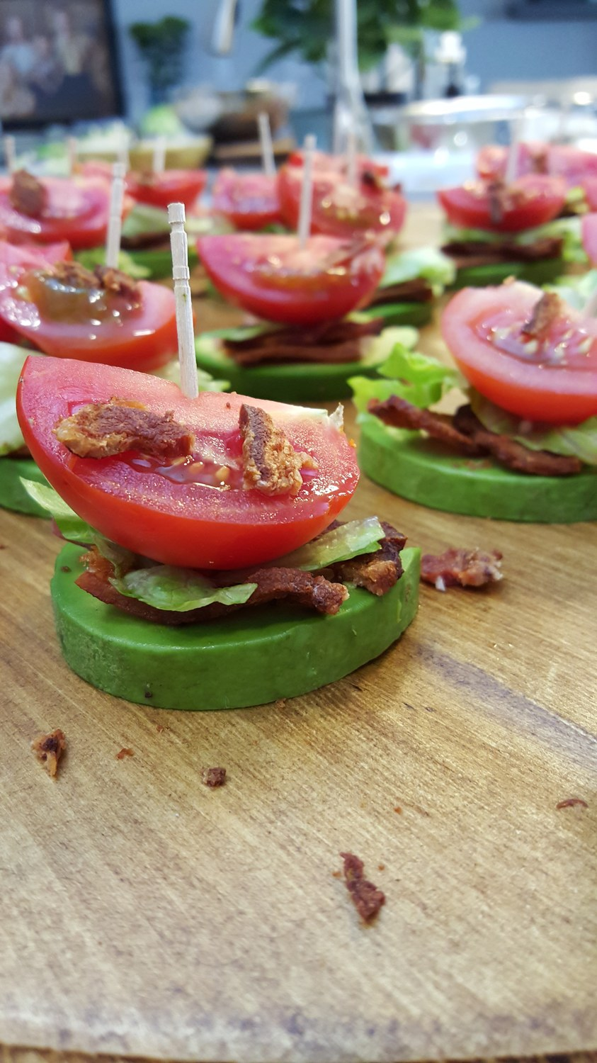 Clean Snacks BLT Avocado Finger Foods