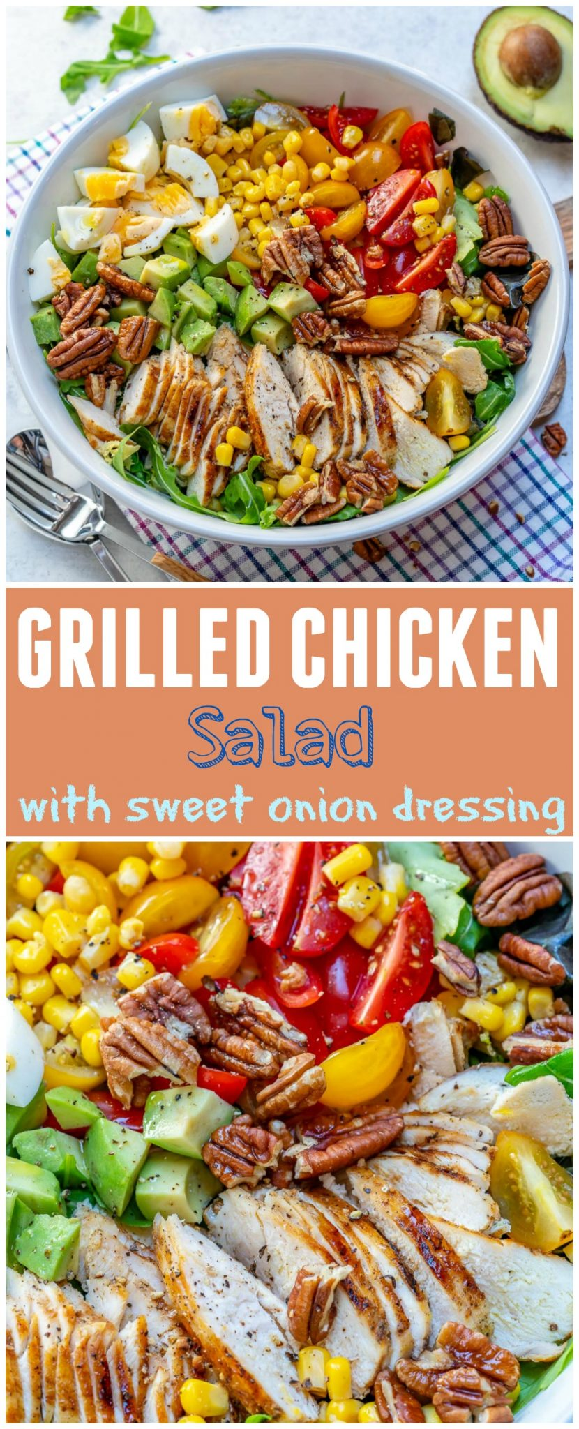 Grilled Chicken Clean Salad Recipes