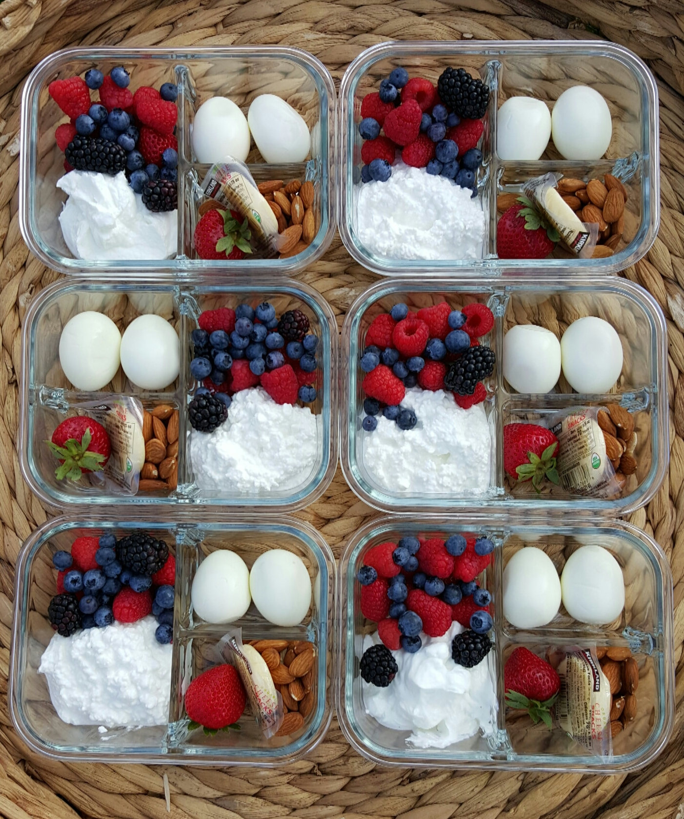 CleanFoodCrush Protein Packed Breakfast Bento Boxes