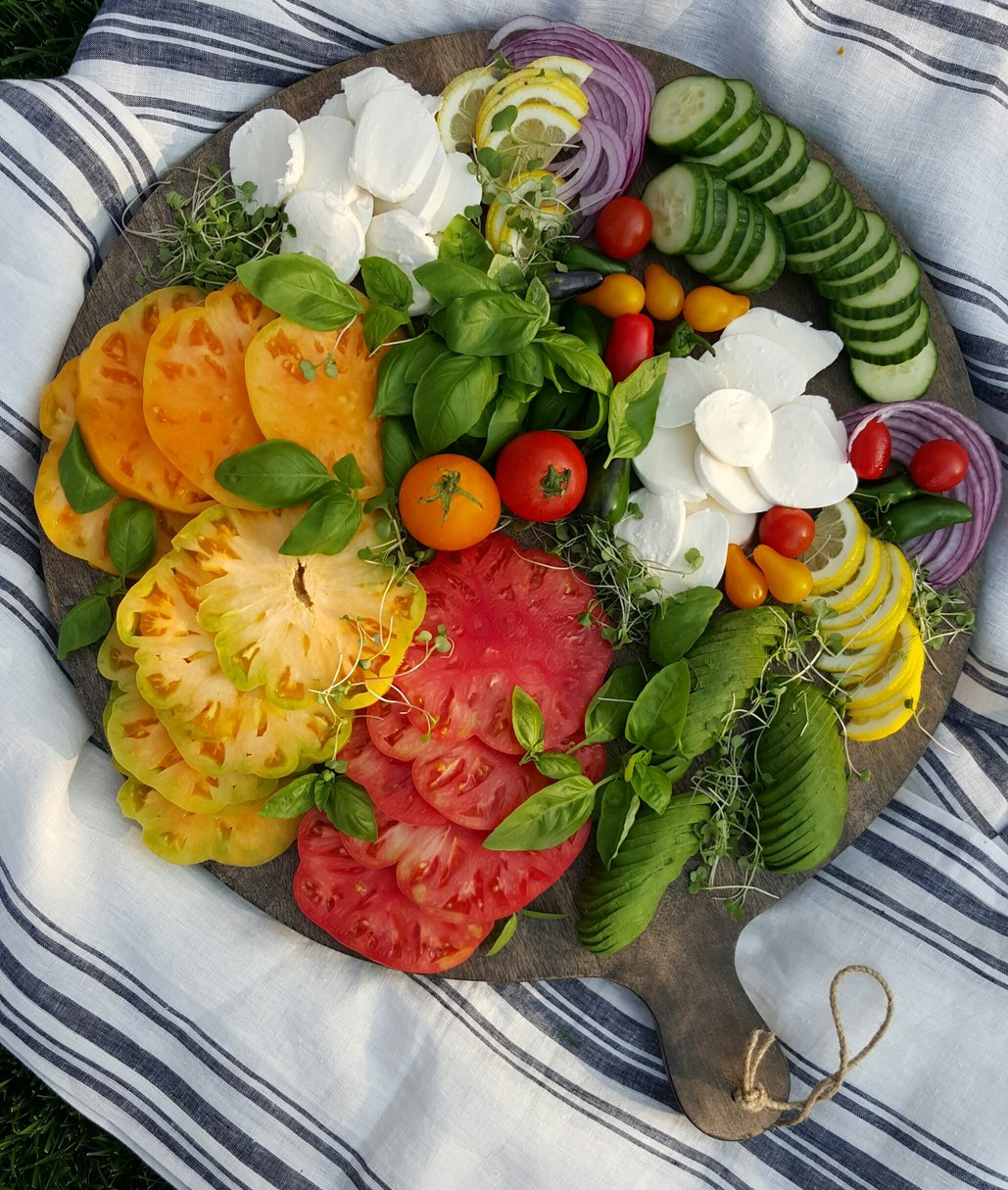 Create Your Own Heirloom Tray for Clean Eating