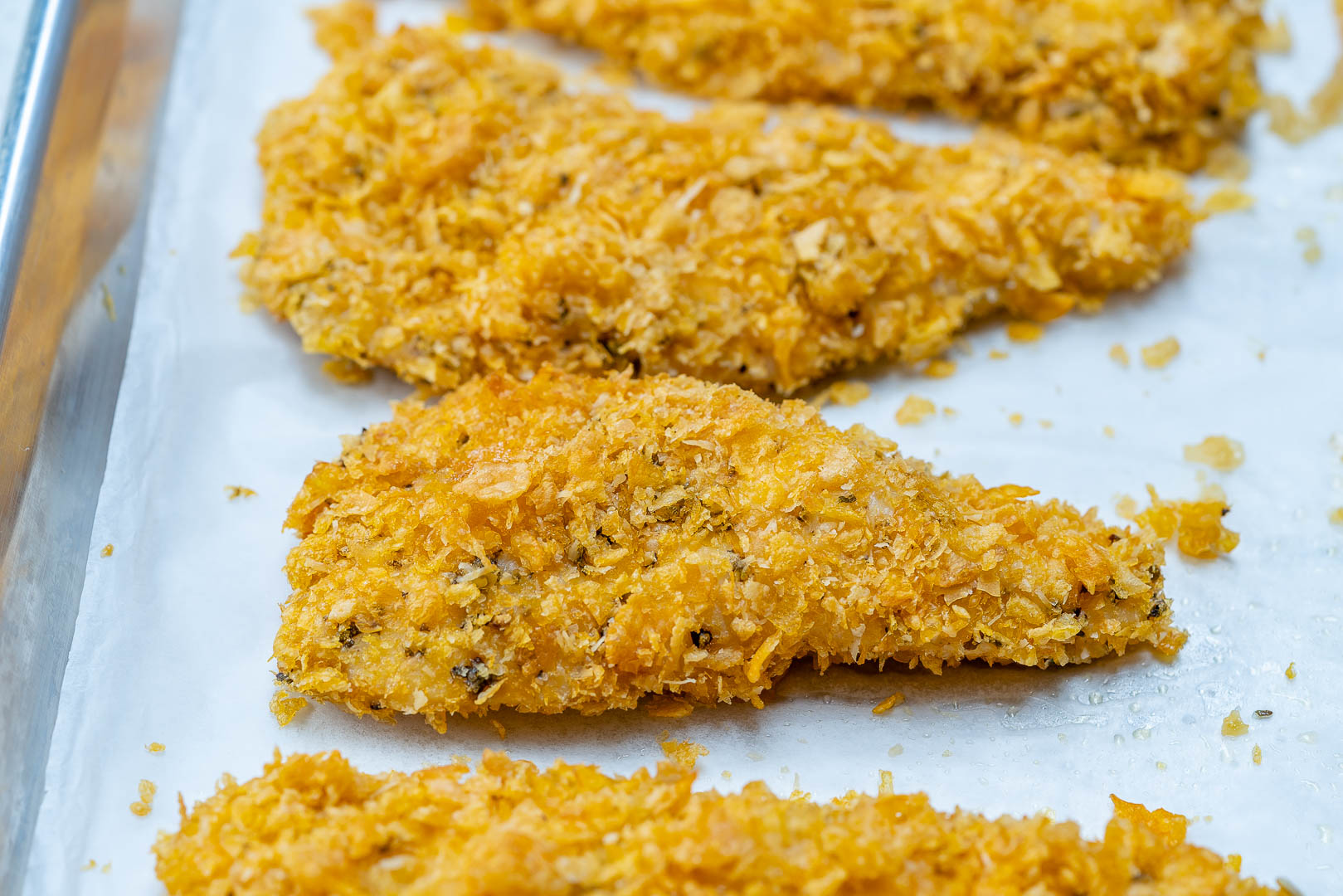 Baked Chicken Strip Zucchini Food Prep Guide