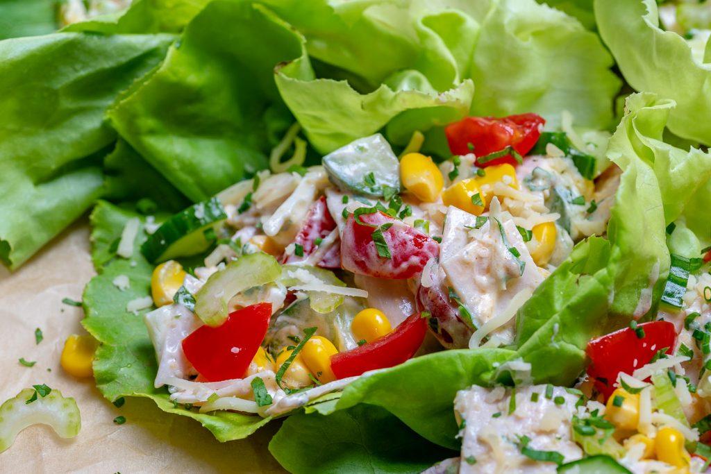 Eat Clean Turkey Salad Lettuce Wraps