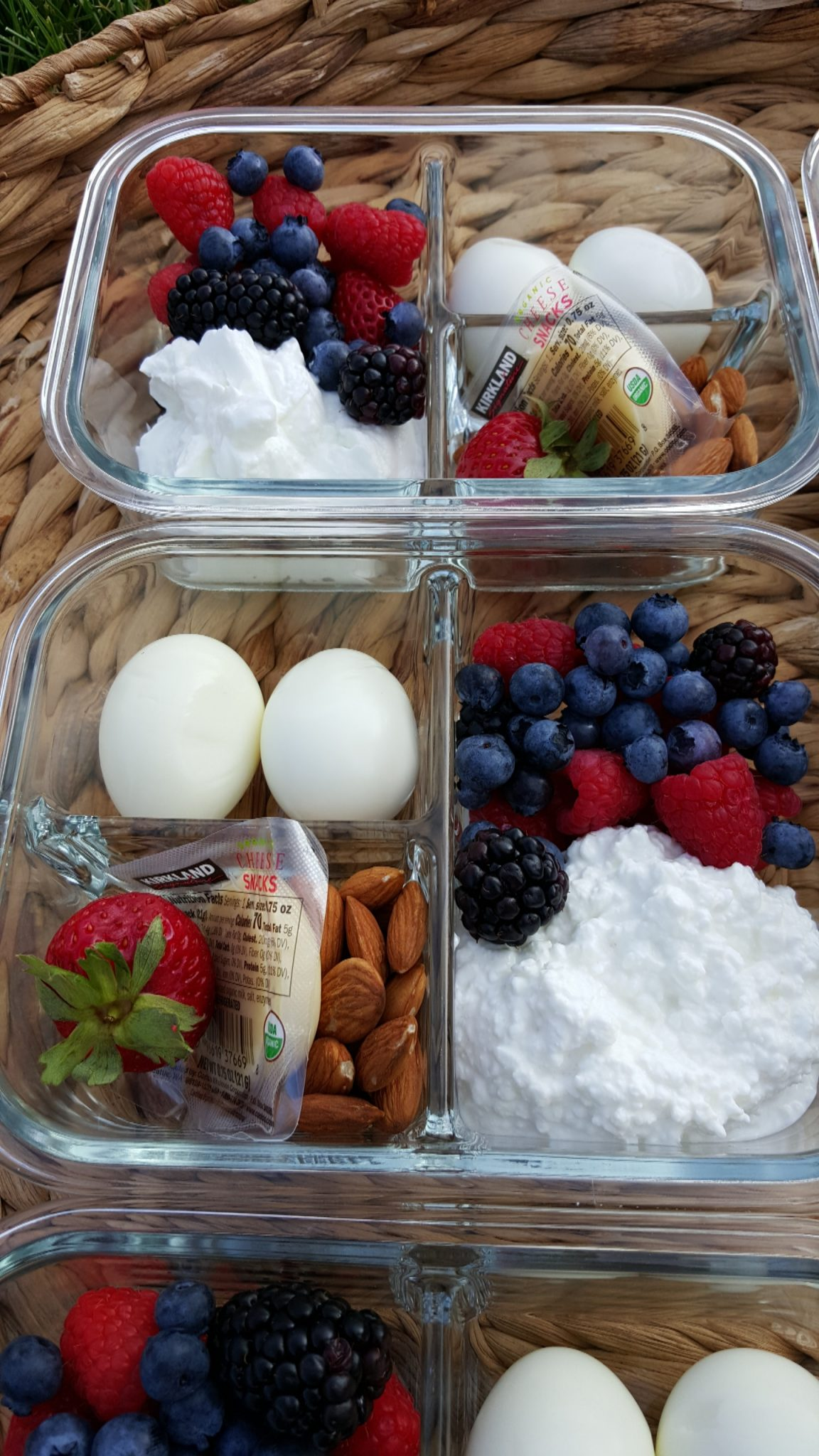 Healthy Protein Packed Breakfast Bento Boxes