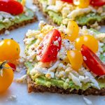 Grated Egg + Avocado Toast by CleanFoodCrush