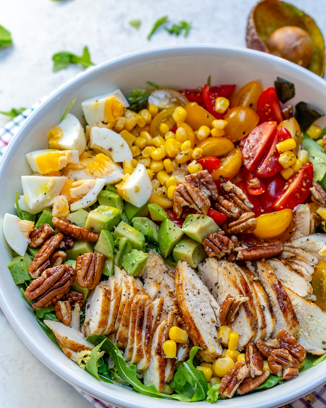 Clean Eating Grilled Chicken Salad Recipe